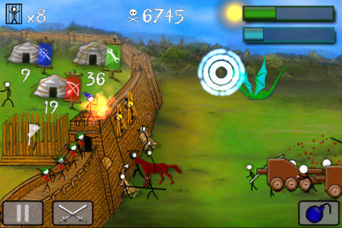 StickWars Lite Screenshot 3