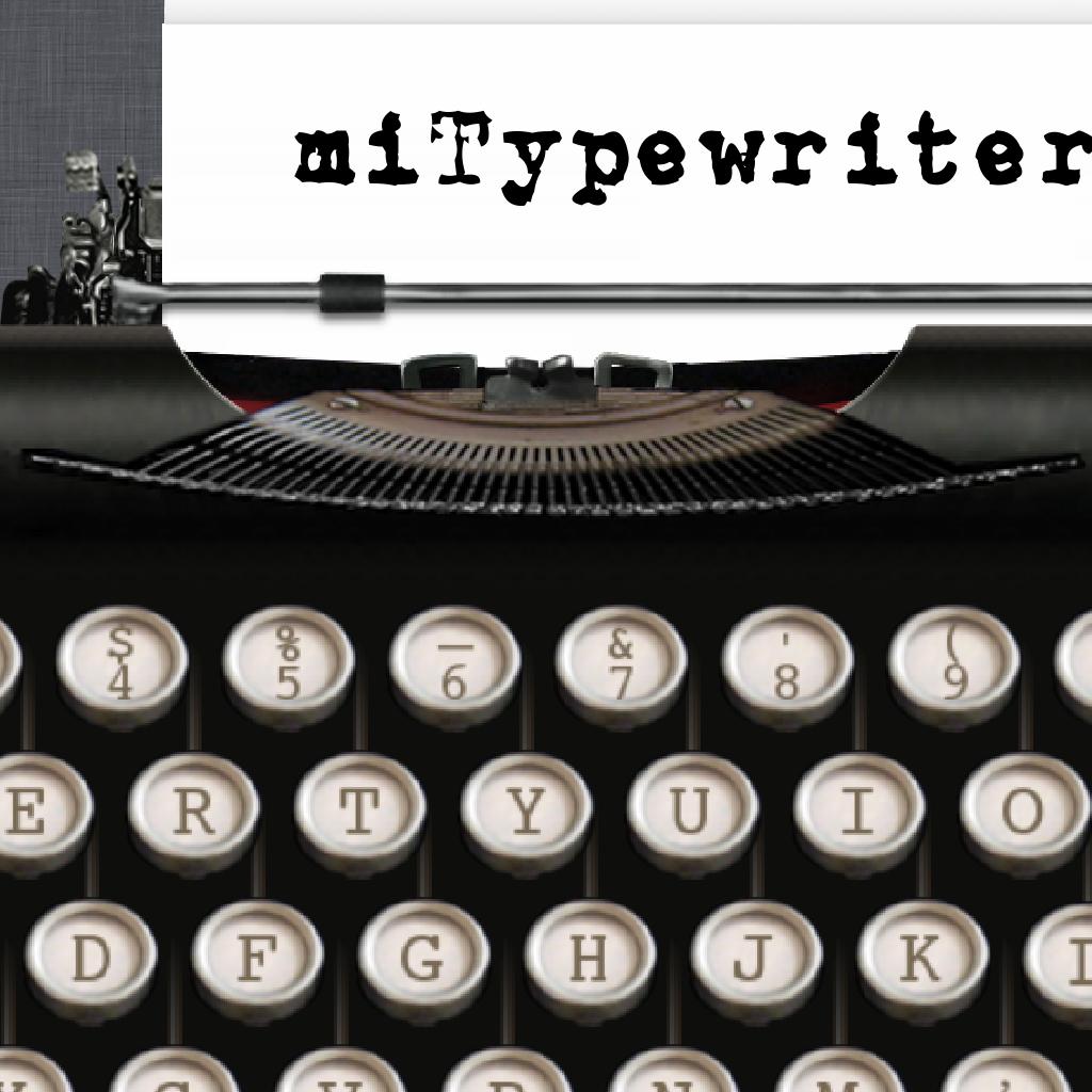miTypewriter for iPad